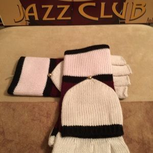 NWOT AUTHENTIC KATE SPADE COLOR-BLOCK GLOVES